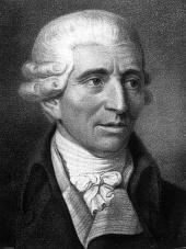 """Ein Blick in Wikipedia bestätigt Küppers Worte: """"Joseph Haydn war unter seinen Zeitgenossen bekannt für seine liebenswürdige und optimistische ... - Joseph_Haydn"""